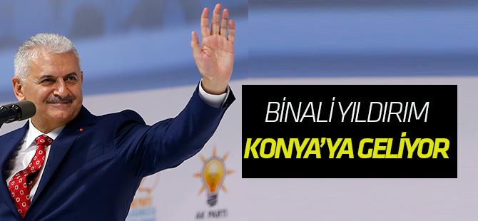 Başbakan Yıldırım Konya'ya geliyor