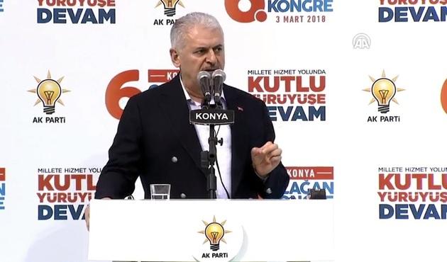 Başbakan'dan Konya'da önemli mesajlar: Mehmetçik destan yazıyor!