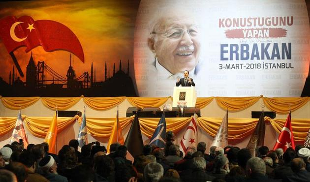 Erbakan 7. yıl dönümünde anıldı! Zeytin Dalı'ndaki payı da anlatıldı...