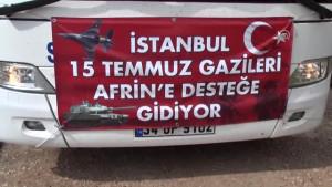 Konya'dan Zeytin Dalı Harekatına destek