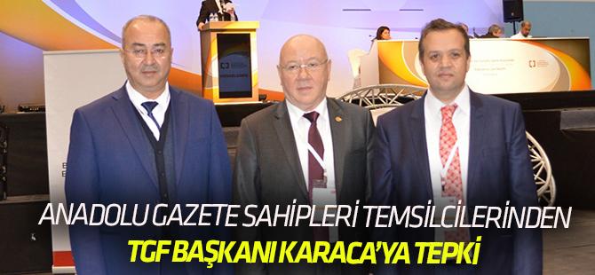 Anadolu Gazete Sahipleri Temsilcileri'nden açıklama