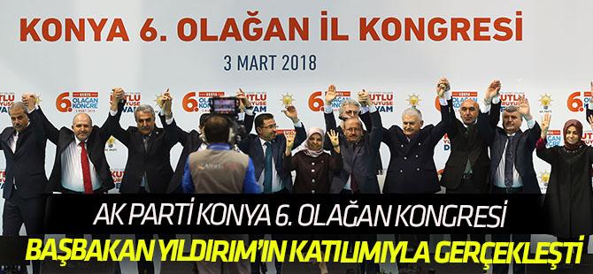 AK Parti 6. Olağan Konya İl Kongresi Gerçekleştirildi