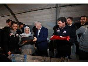 Başbakan Yıldırım İzmir'de şehit astsubayın mevlidine katıldı