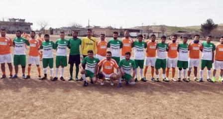 Sınırın sıfır noktasında futbol ve kardeşlik turnuvası