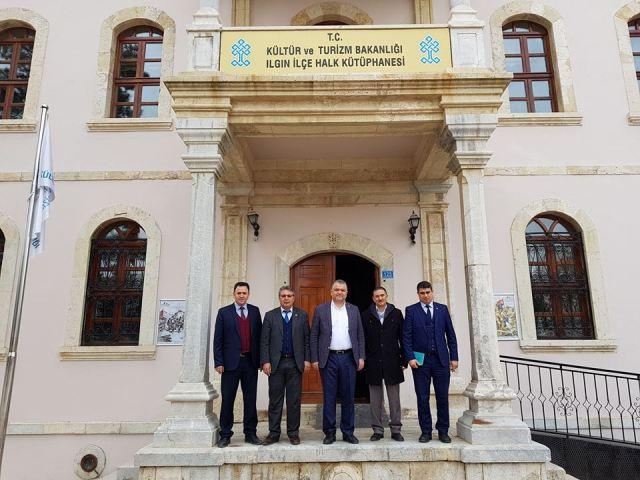 Ilgın'da Halk Kütüphanesi yeni yerinde açıldı