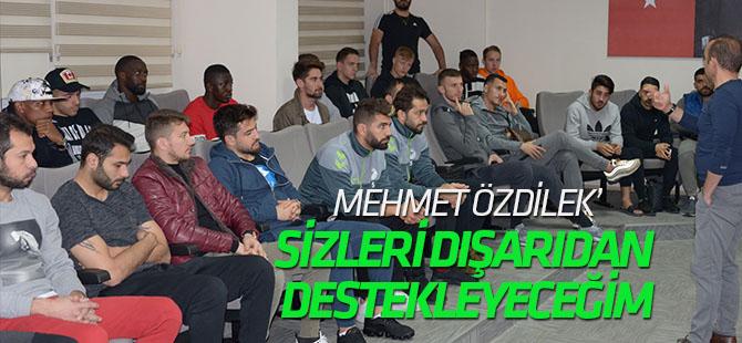 Atiker Konyaspor'da Özdilek veda etti: Dışarıdan destekleyeceğim