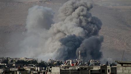 Rejimin saldırıları BM konvoyunun Doğu Guta'ya girişine engel oldu
