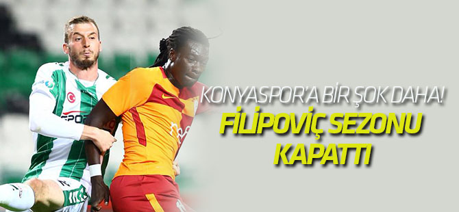 Konyaspor'a bir şok daha!