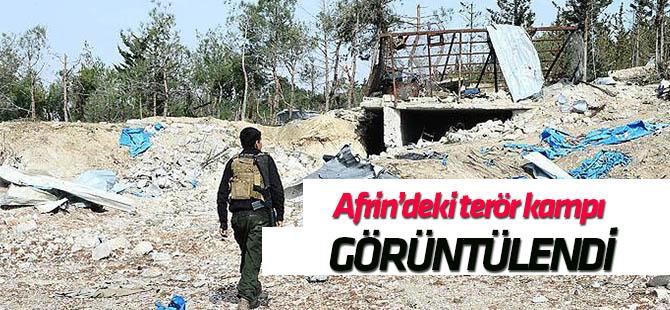 Bafilun Dağı'ndaki terör kampı görüntülendi