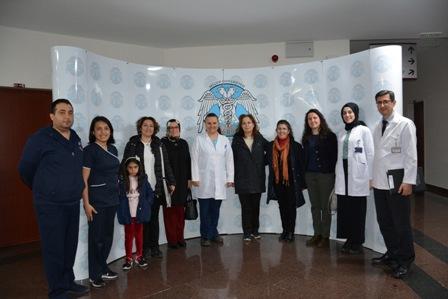 Konya'nın iki ilkokulu Selçuk Tıp'ta çocukların yüzünü güldürdü