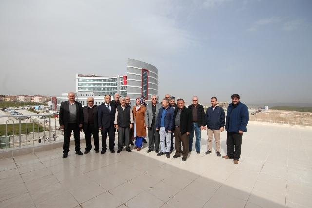 Başkan Özaltun, Beyşehir Hasta Konukevi'ni ziyaret etti