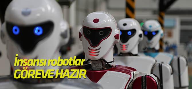 """""""İnsansı"""" robotlar kışla nöbetine talip"""