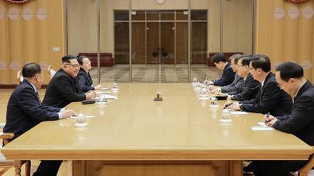 Kuzey Kore'de 'samimi' görüşme