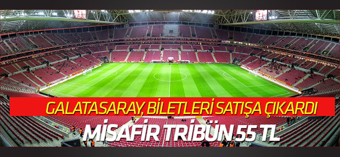 Galatasaray-Konyaspor maçı biletleri satışta
