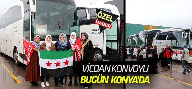 Vicdan Konvoyu bugün Konya'dan hareket ediyor