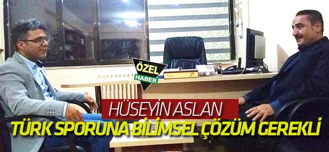 Türk Sporuna Bilimsel Çözüm Gerekli