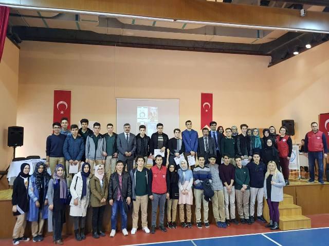 Gençler Arası Bilgi Yarışması Düzenlendi