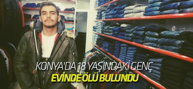 Konya'da 18 Yaşındaki Genç Evinde Ölü Bulundu