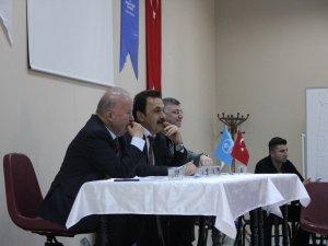 Ömer Ersöz antrenör değerlendirme toplantısı yaptı