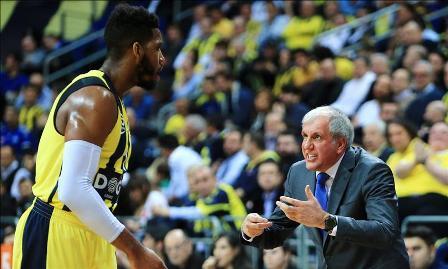 Fenerbahçe Doğuş, Litvanya deplasmanında
