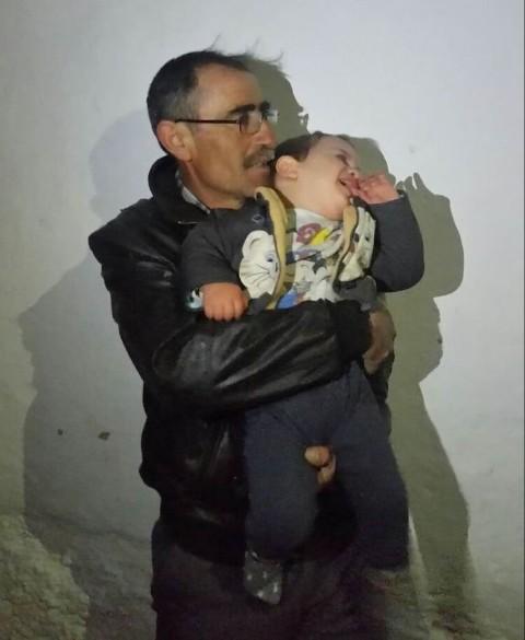 Konya'da kaybolan 3 yaşındaki çocuk 7,5 saat sonra bulundu