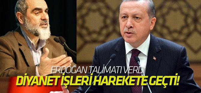 Erdoğan talimatı verdi, Diyanet İşleri harekete geçti!