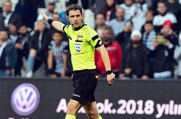 Galatasaray-Atiker Konyaspor maçında düdük Halil Umut Meler'de