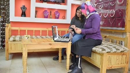 Engelli kadınlar çalışma hayatında 'engel' tanımıyor