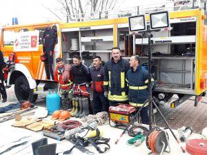 Gölova'da yangın ve deprem tatbikatı
