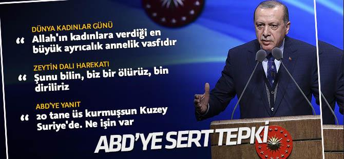 Cumhurbaşkanı Erdoğan: Bir ölürüz, bin diriliriz