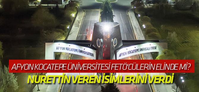 Afyon Kocatepe Üniversitesi FETÖ'cülerin elinde mi?