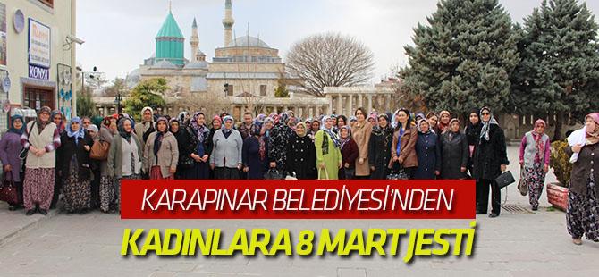 Karapınarlı kadınlar Konya'yı gezdi
