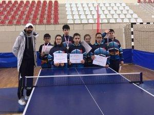 Masa Tenisi Konya takımı yarı finalde