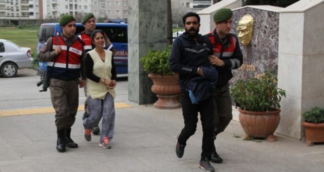 Hurda hırsızlarını güvenlik kamerası ele verdi