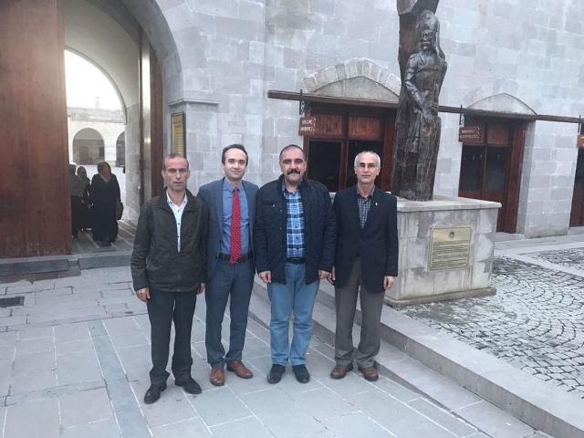 Malatya Vali Yardımcısı Özyiğit'e Seydişehir'den Ziyaret