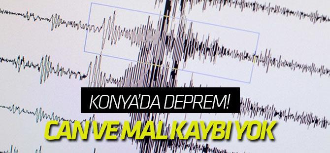 Konya ve Erzurum'da deprem! İşte son depremler