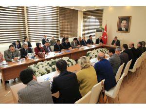 Aksaray'da Bağımlılıkla Mücadele Koordinasyon Kurulu toplantısı
