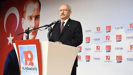 CHP Genel Başkanı Kılıçdaroğlu: Senin yerin CHP'nin kapısının dışarısıdır