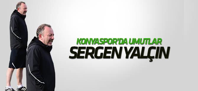 Konyaspor'da umutlar Sergen Yalçın