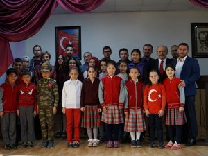 """Derebucak'ta """"İstiklal Marşı'nı Güzel Okuma Yarışması"""""""