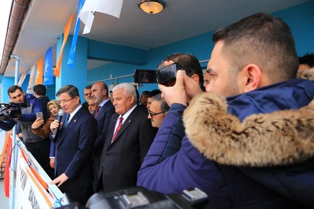 AK Parti Konya Milletvekili Davutoğlu, Halkapınar'da