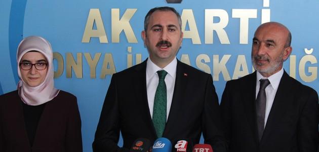 Adalet Bakanı Gül Konya'da