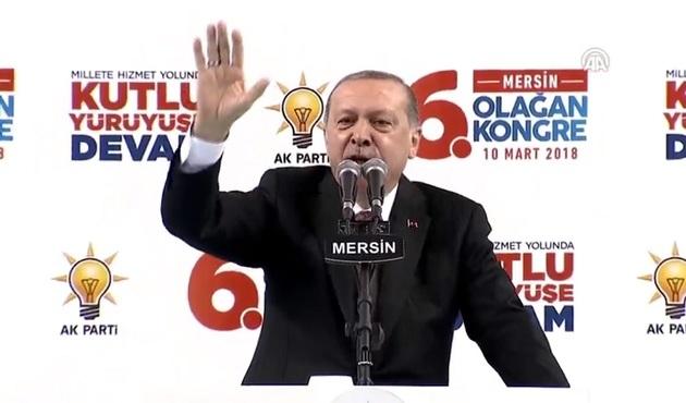 Cumhurbaşkanı Erdoğan: Afrin'e girdik, giriyoruz!