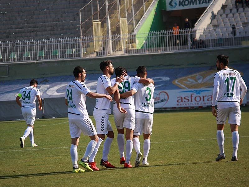 Konya Anadolu Selçukspor:2- Niğde Belediyespor:1