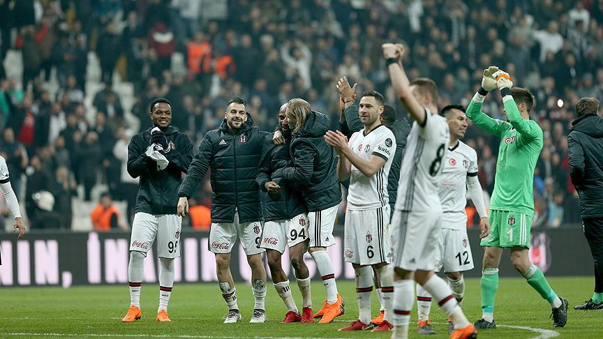 Beşiktaş, adım adım zirveye