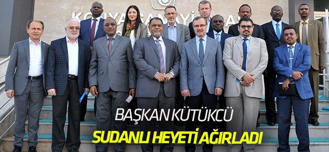 Başkan Kütükcü, Sudanlı iş adamlarını Konya'ya davet etti