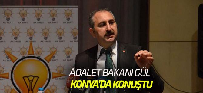 Adalet Bakanı Abdülhamit Gül, Konyalılarla buluştu