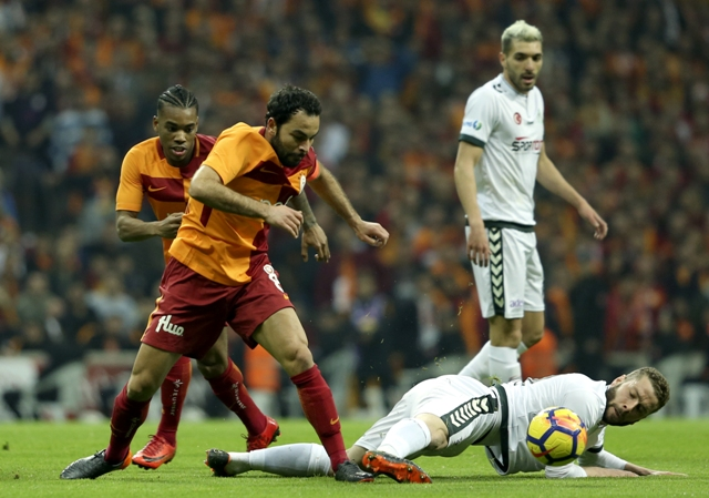 Galatasaray:2- Atiker Konyaspor:1