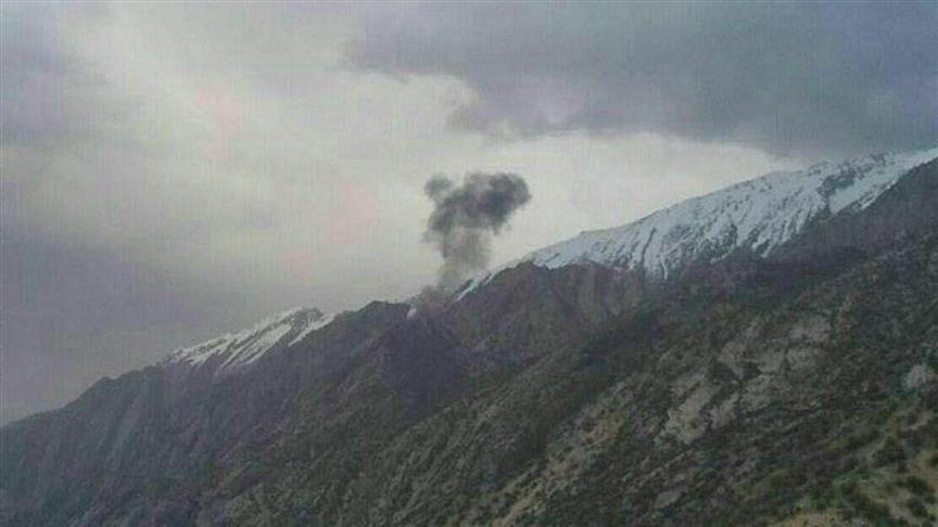İran'da özel Türk uçağı düştü: 11 ölü