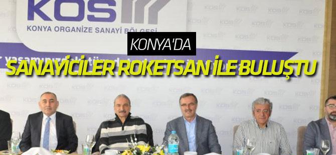 Sanayiciler Roketsan ile buluştu